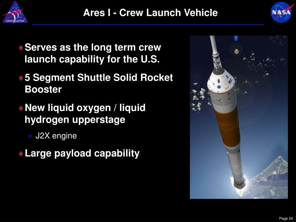 Ares I - Crew Launch Vehicle