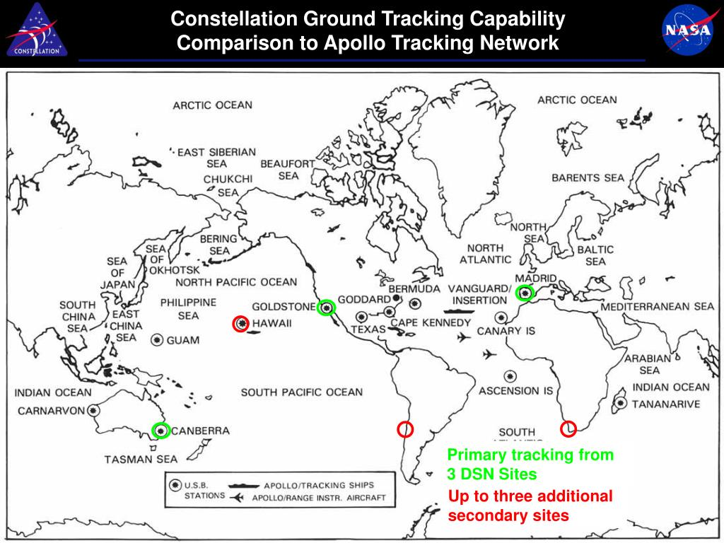 Constellation Ground Tracking Capability