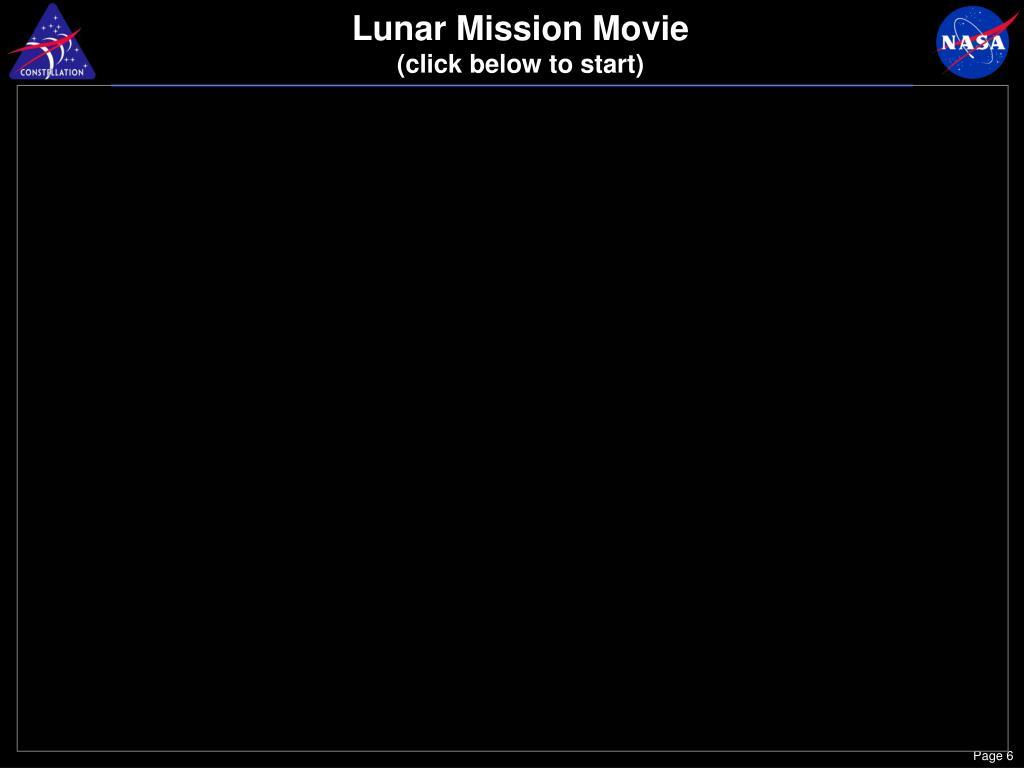 Lunar Mission Movie