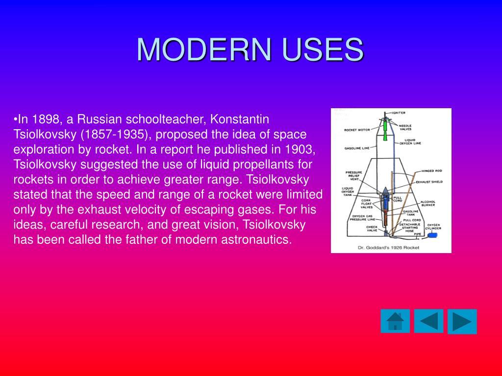MODERN USES