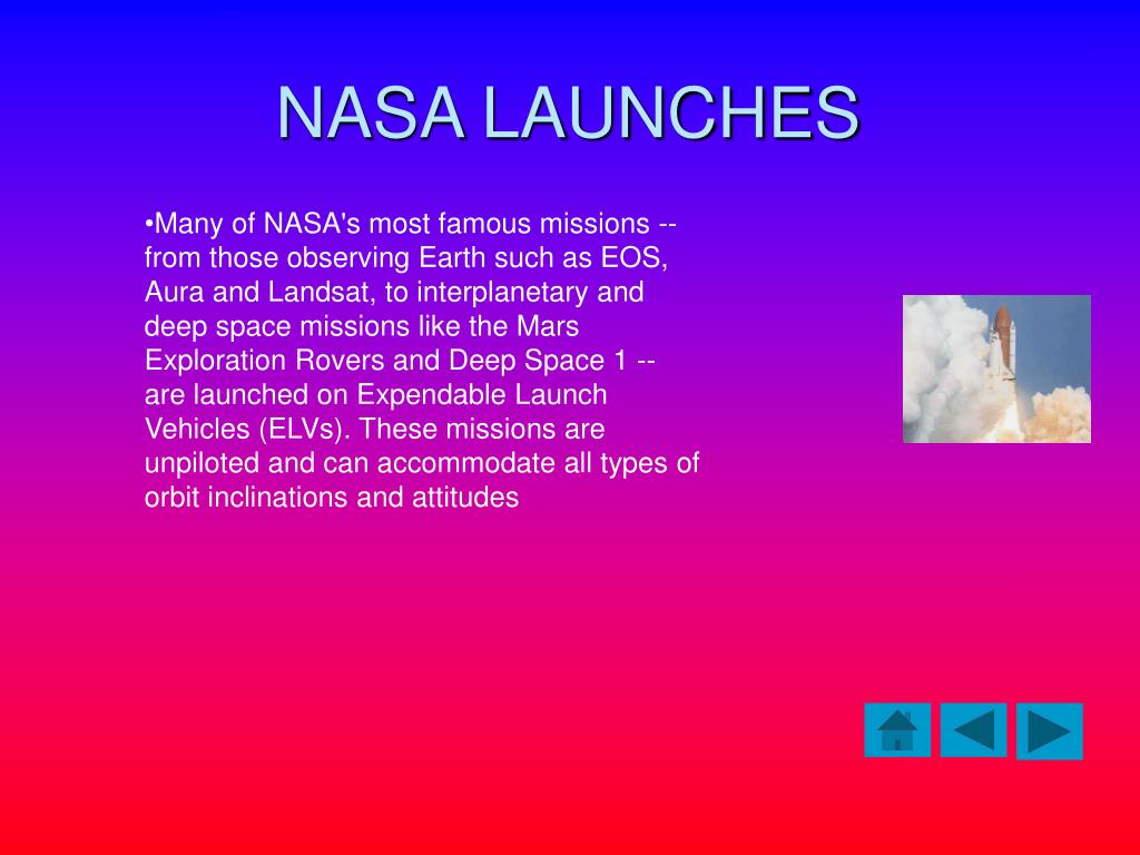 NASA LAUNCHES