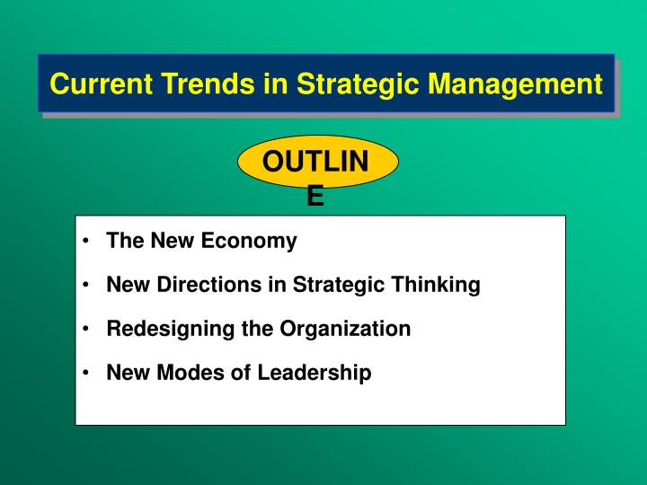 Current trends in strategi c m anagement l.jpg