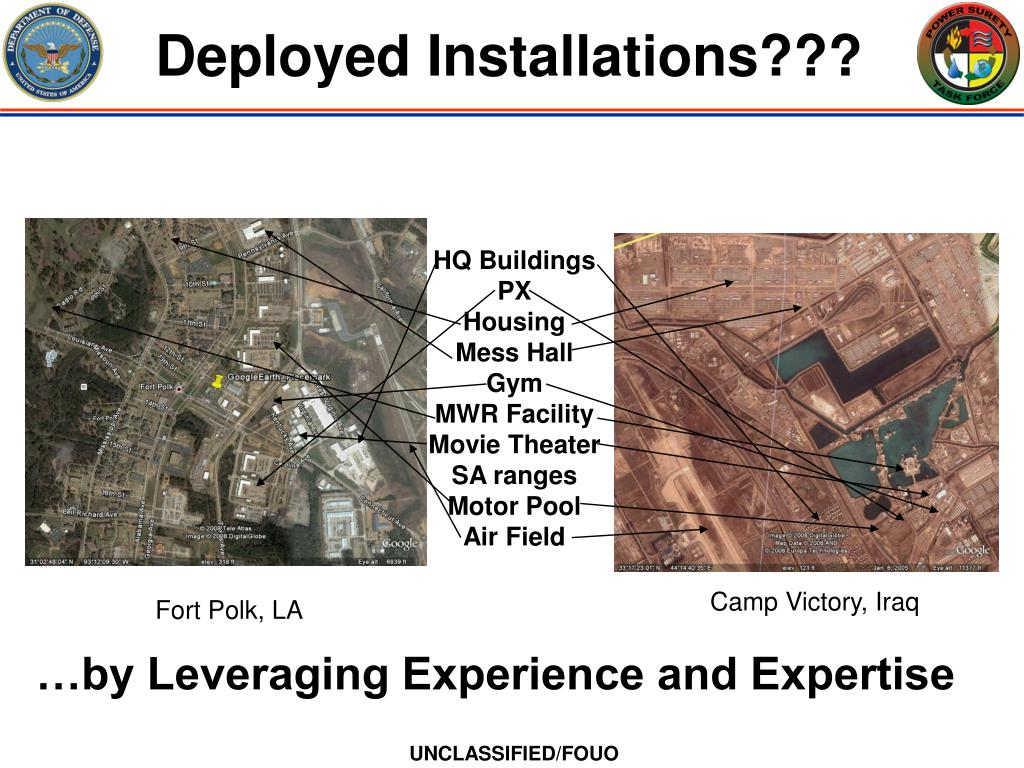 Deployed Installations???