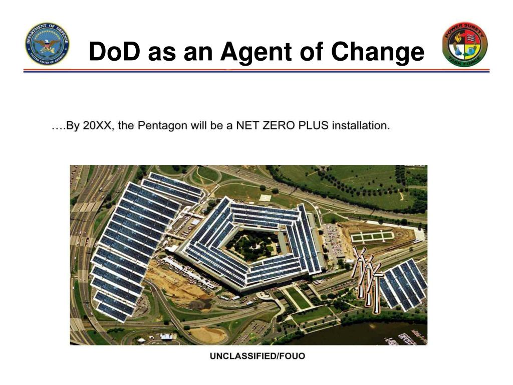 DoD as an Agent of Change
