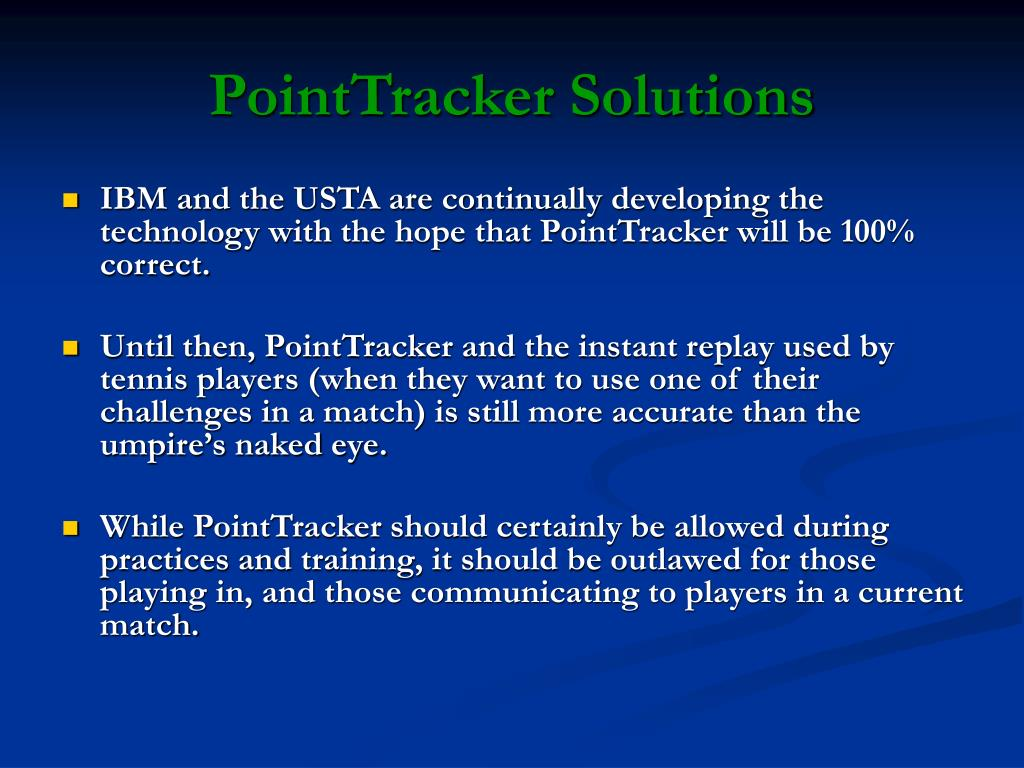 PointTracker Solutions