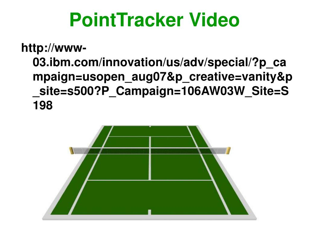PointTracker Video