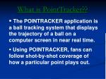 what is pointtracker