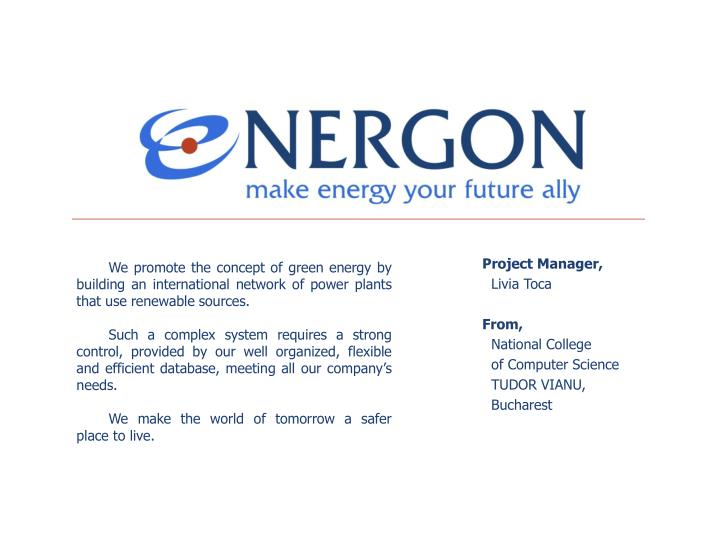 Project Manager,