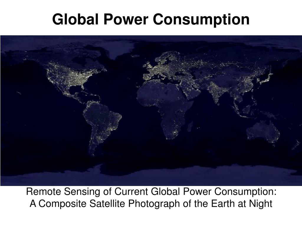 Global Power Consumption