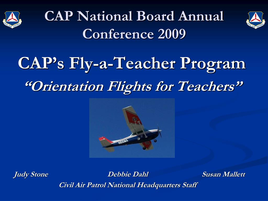 CAP National Board Annual Conference 2009