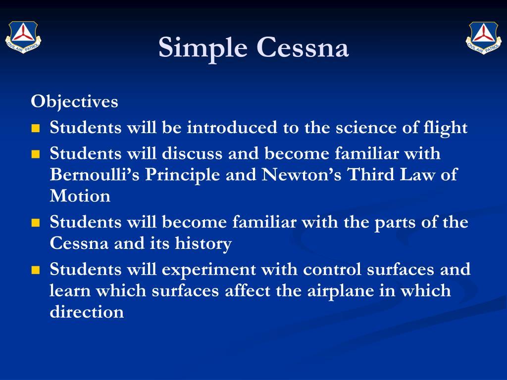 Simple Cessna