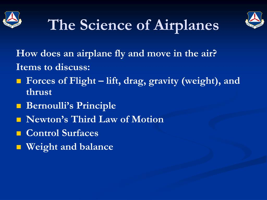 The Science of Airplanes