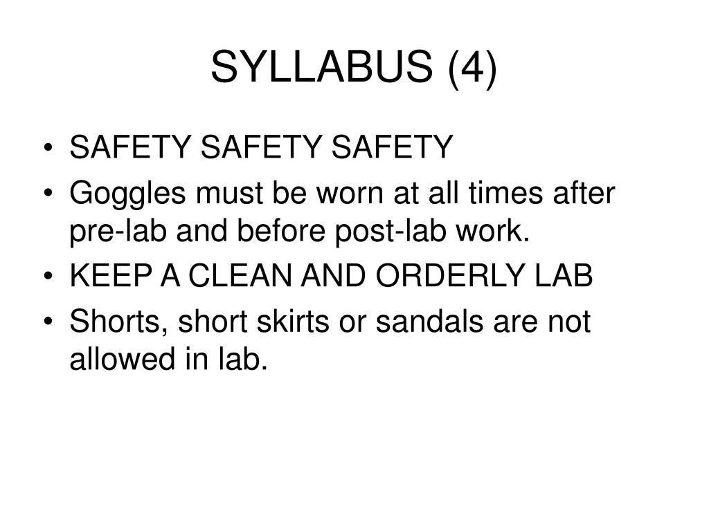 SYLLABUS (4)
