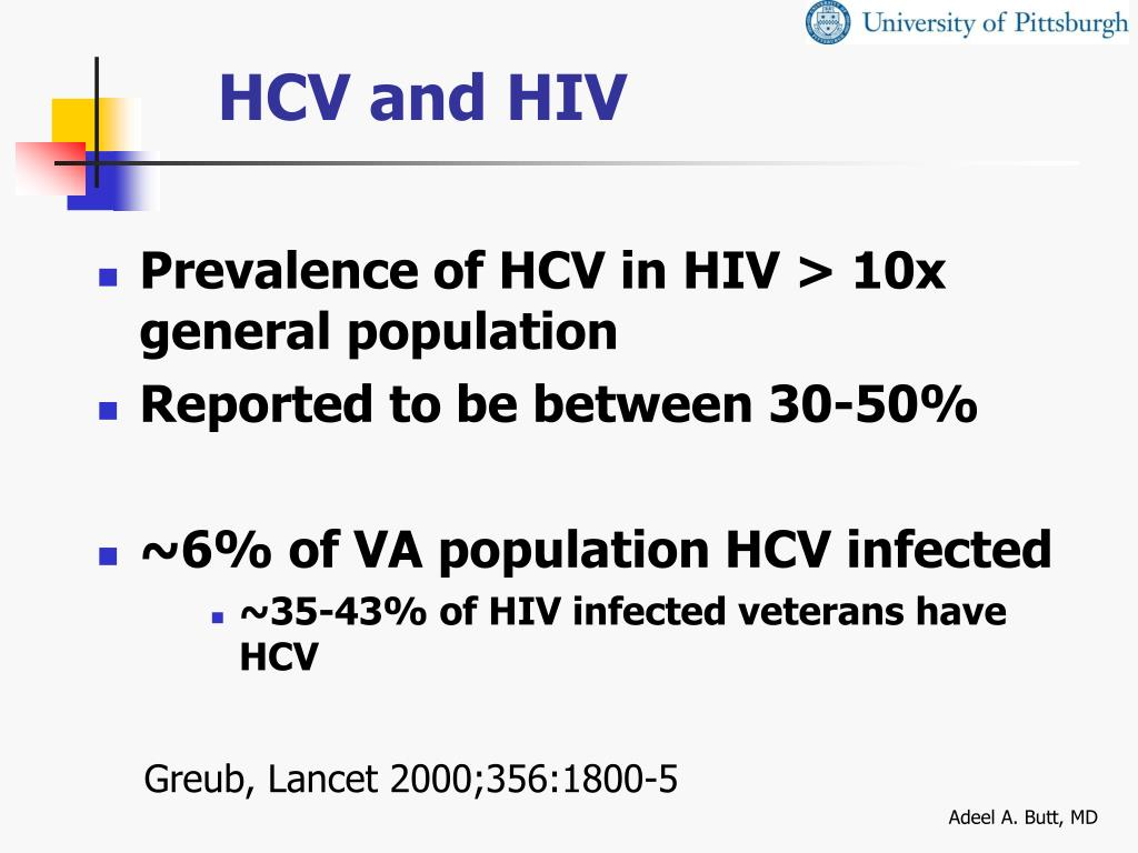 HCV and HIV