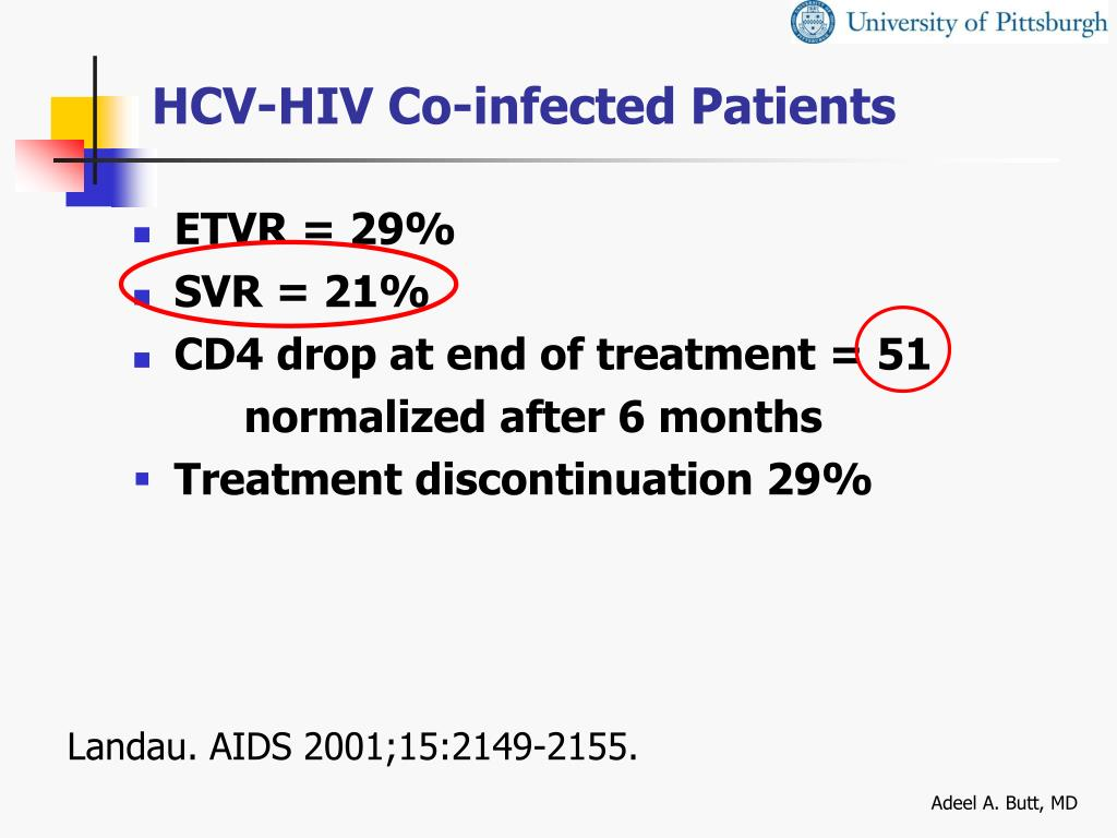 HCV-HIV Co-infected Patients