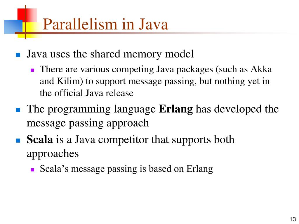 Parallelism in Java