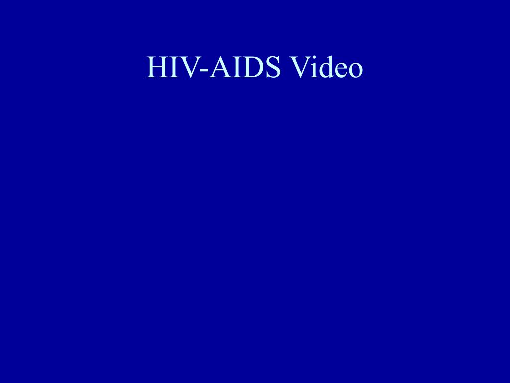 HIV-AIDS Video