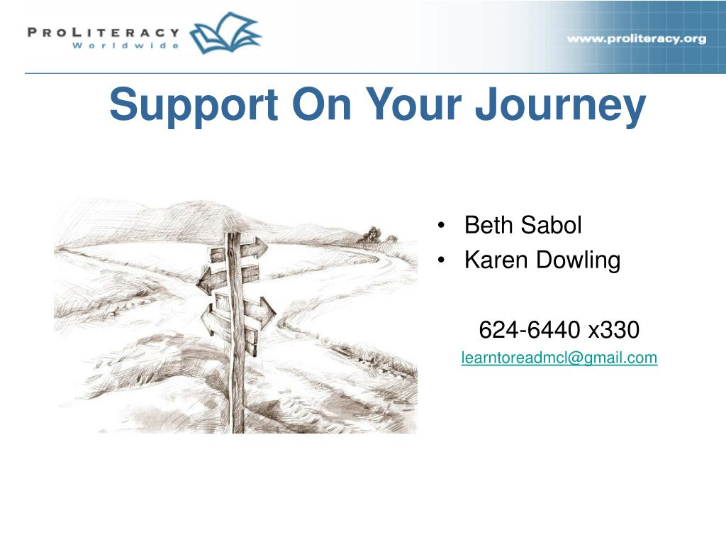 Support On Your Journey