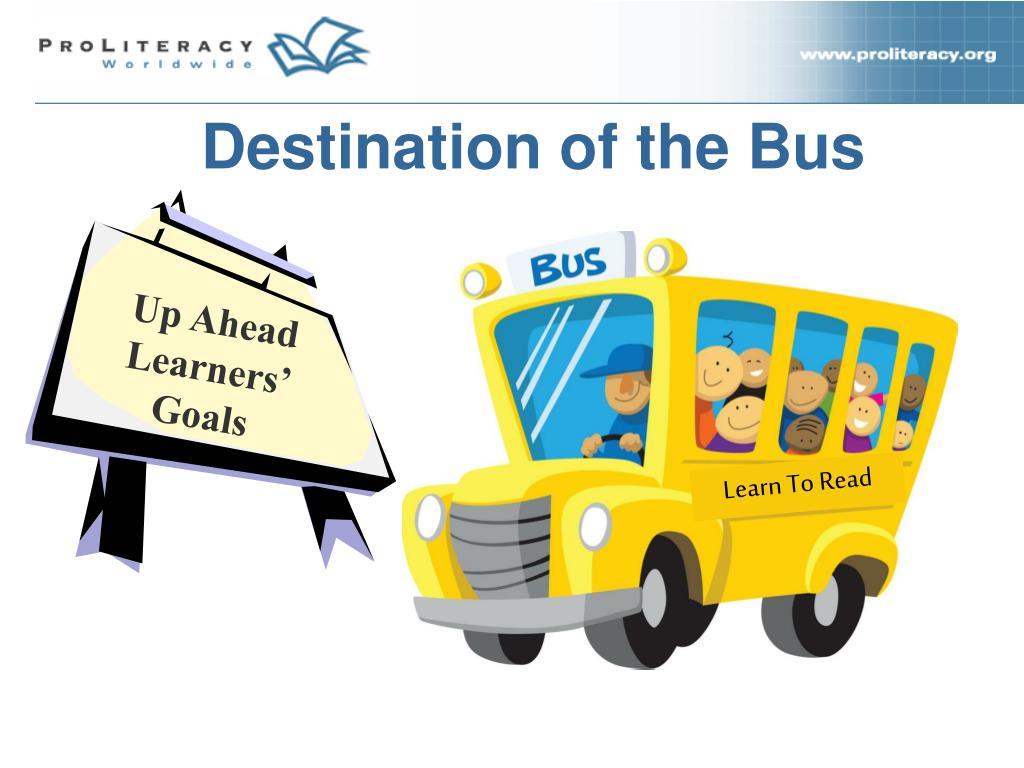 Destination of the Bus