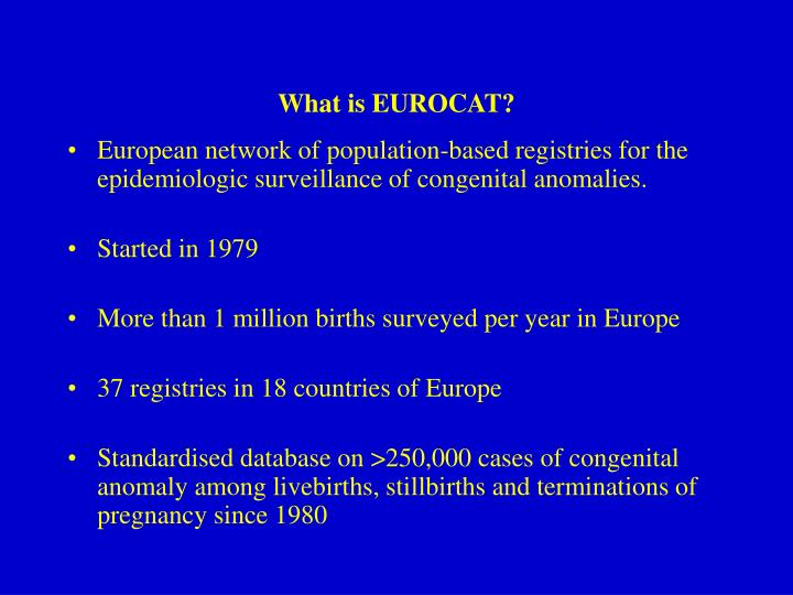 What is eurocat