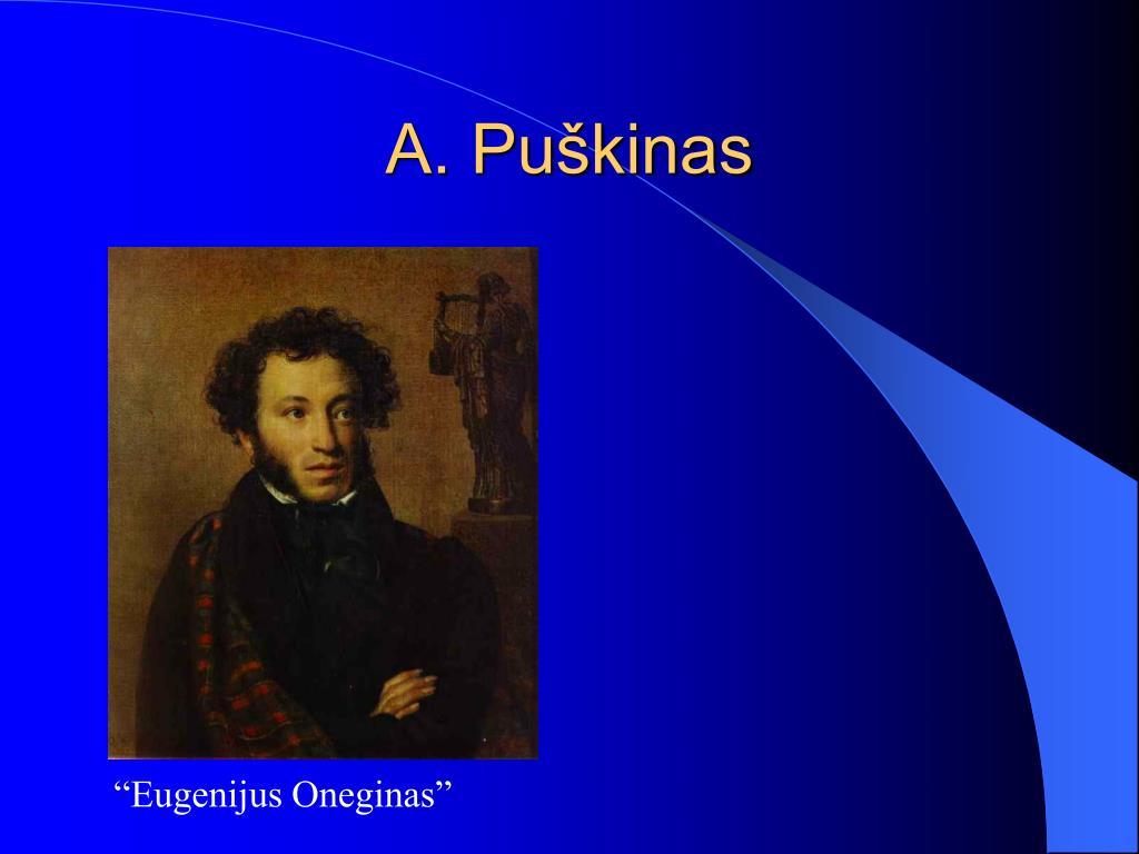 A. Puškinas