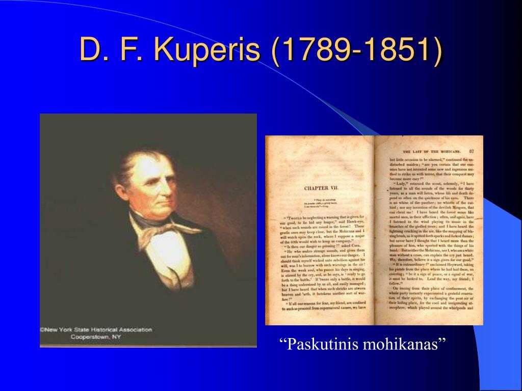 D. F. Kuperis