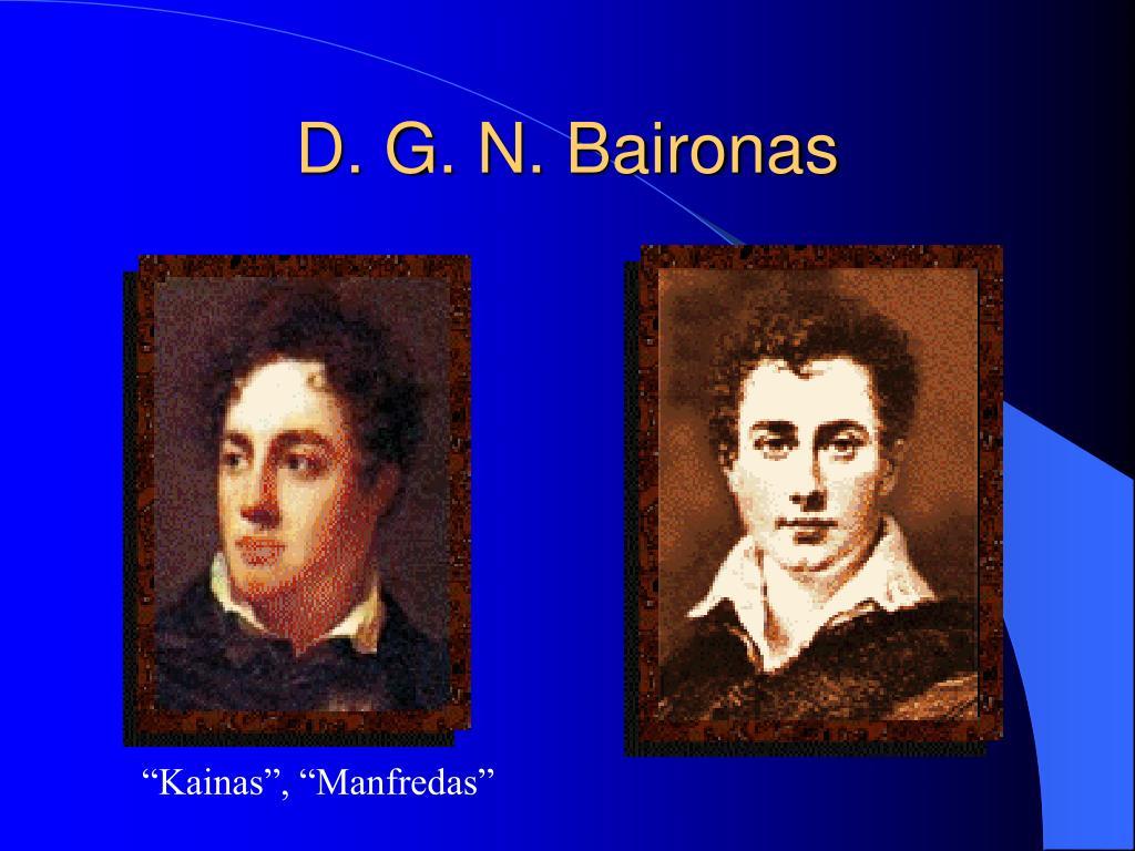 D. G. N. Baironas