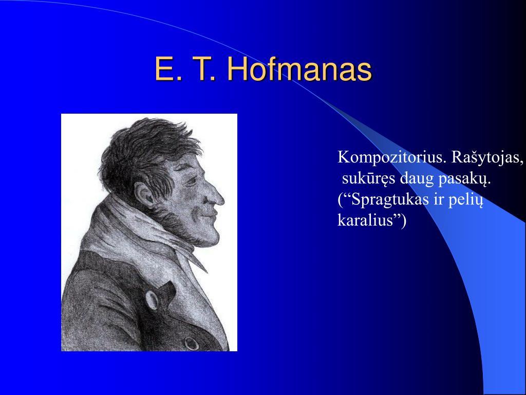 E. T. Hofmanas