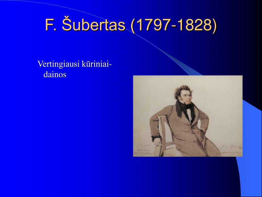 F. Šubertas (1797-1828)