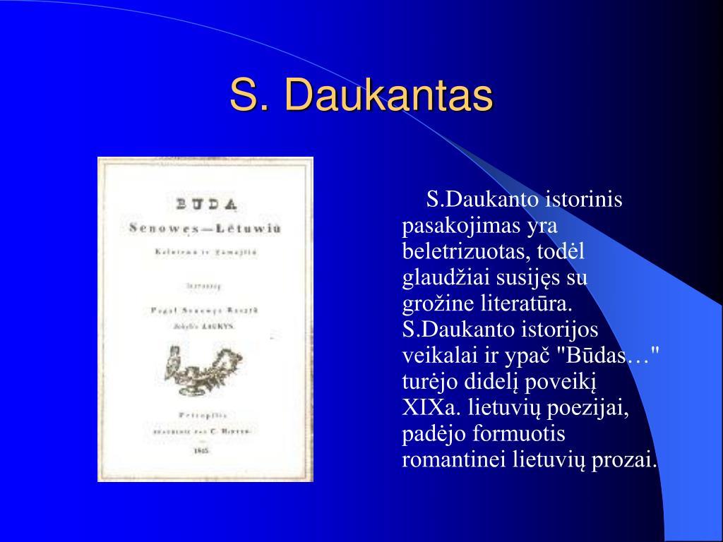 S. Daukantas