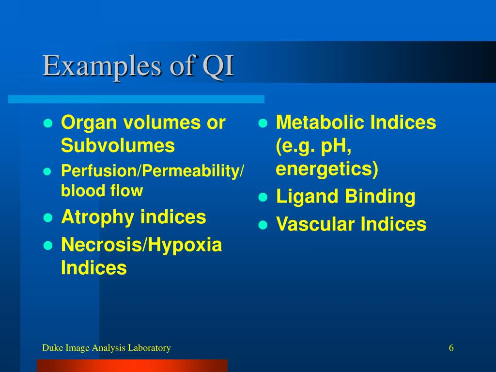 Organ volumes or Subvolumes
