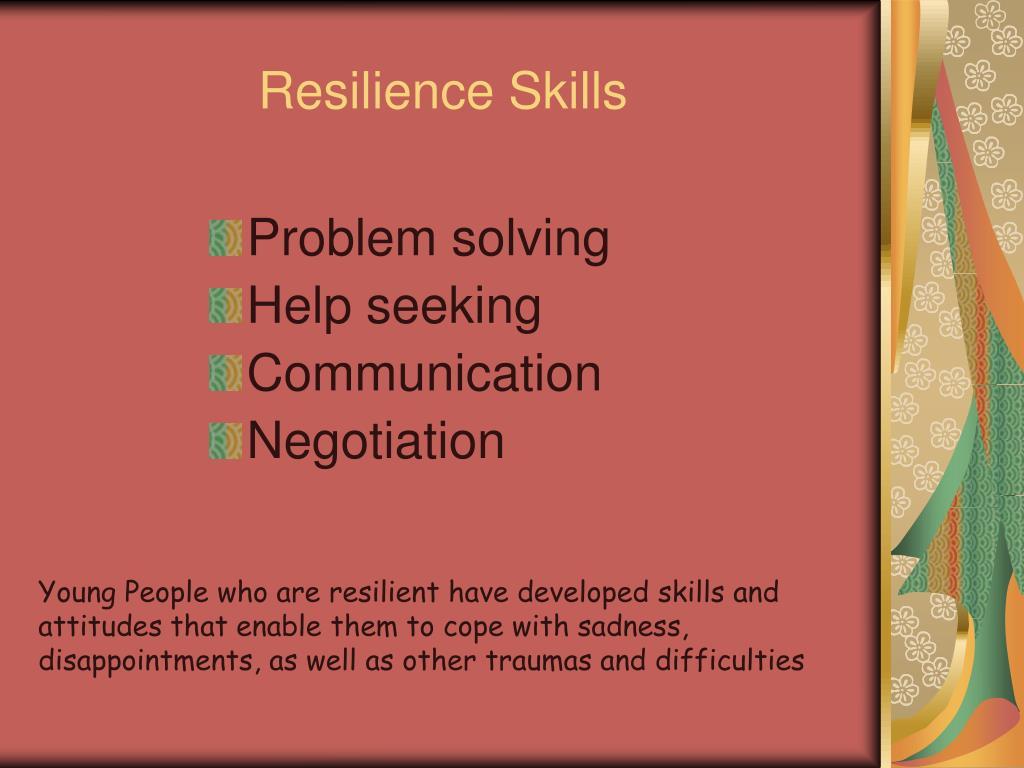 Resilience Skills