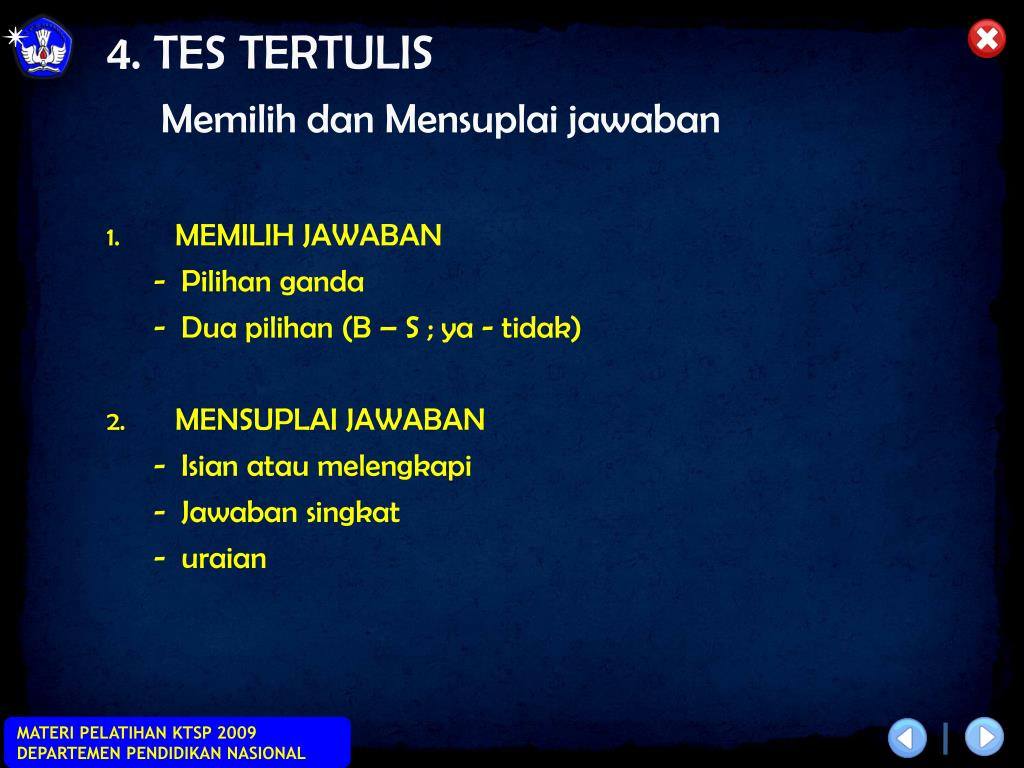 4. TES TERTULIS