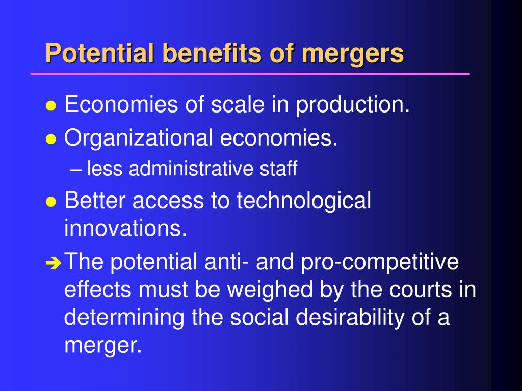 advantages and disadvantages for mergers and acquisition The trade-offs for buyers and sellers in mergers and acquisitions alfred  the way an acquisition is paid for determines how the risk is distributed between the .