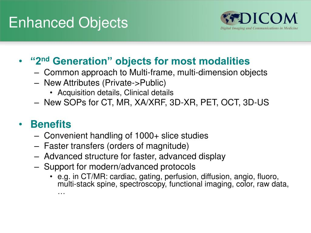 Enhanced Objects