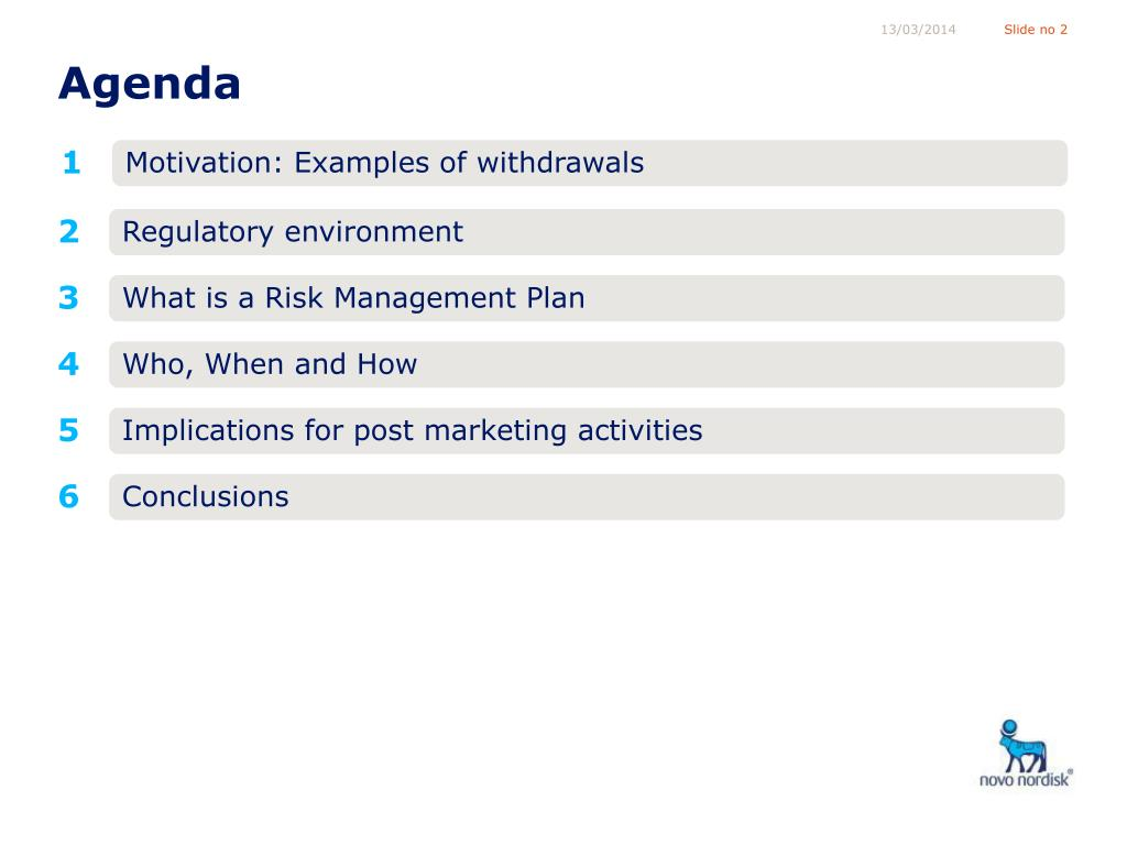 What is a Risk Management Plan