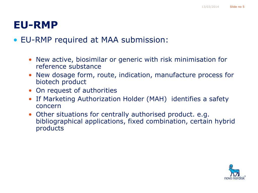EU-RMP