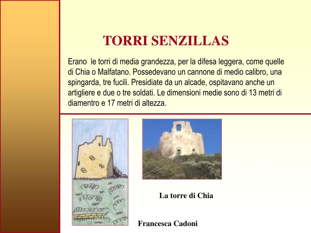 TORRI SENZILLAS