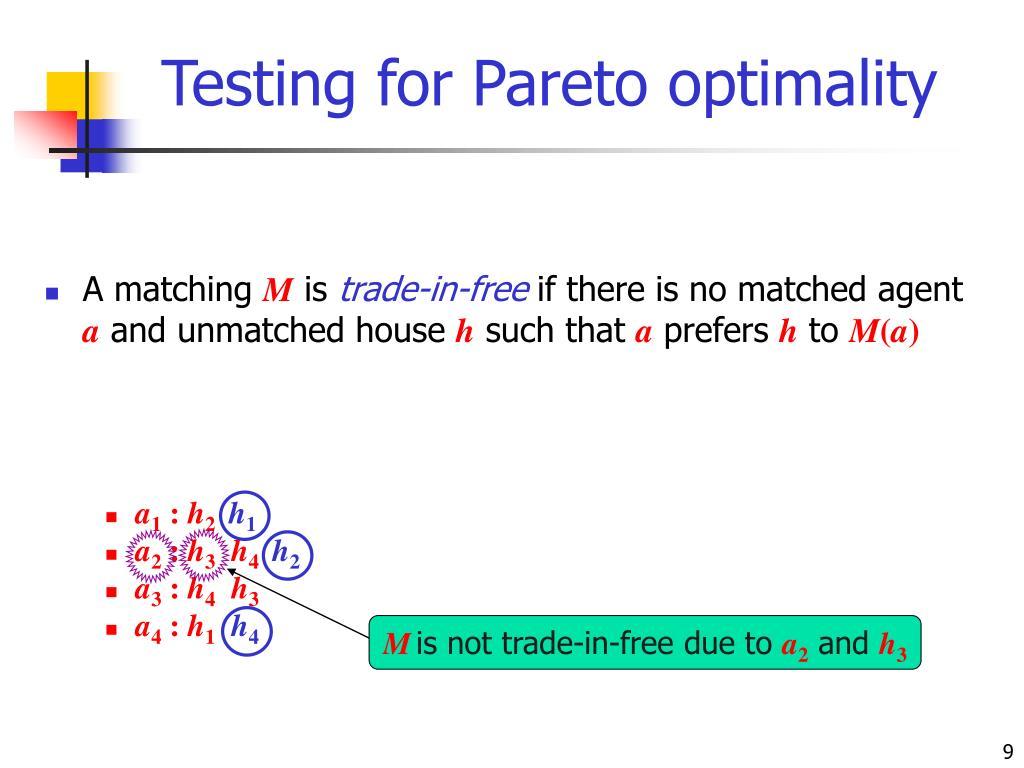 Testing for Pareto optimality