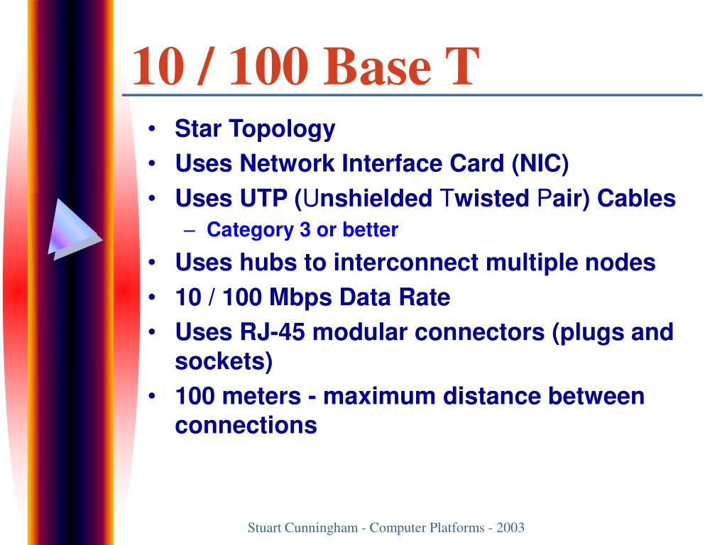 10 / 100 Base T