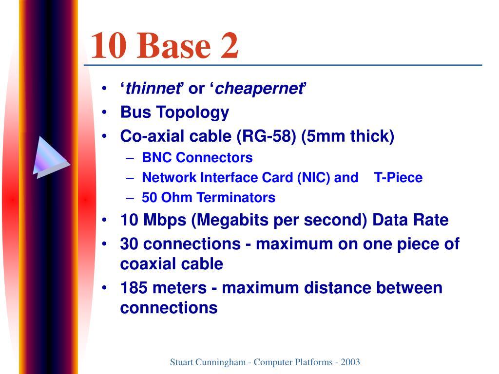 10 Base 2