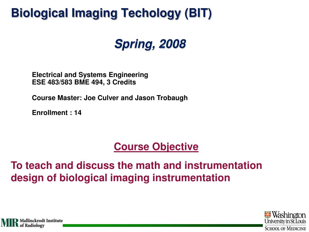 Biological Imaging