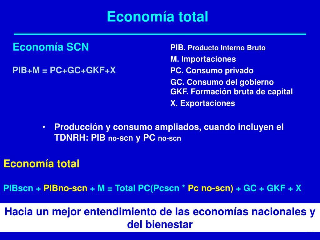 Economía total