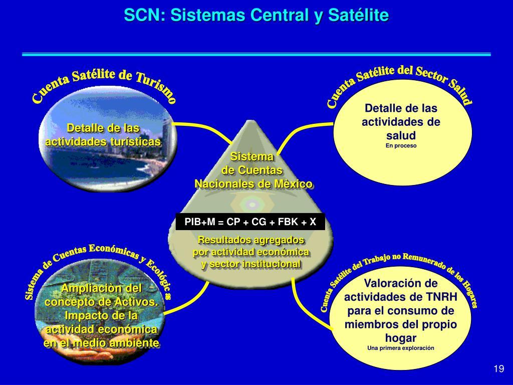 SCN: Sistemas Central y Satélite