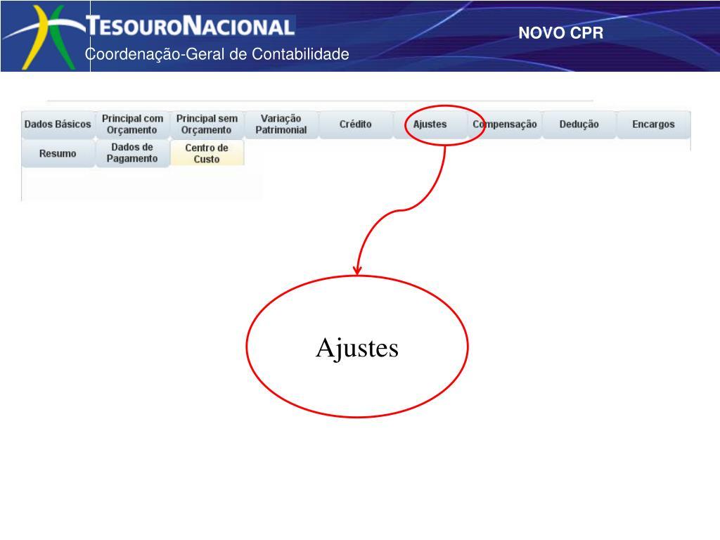 Ajustes