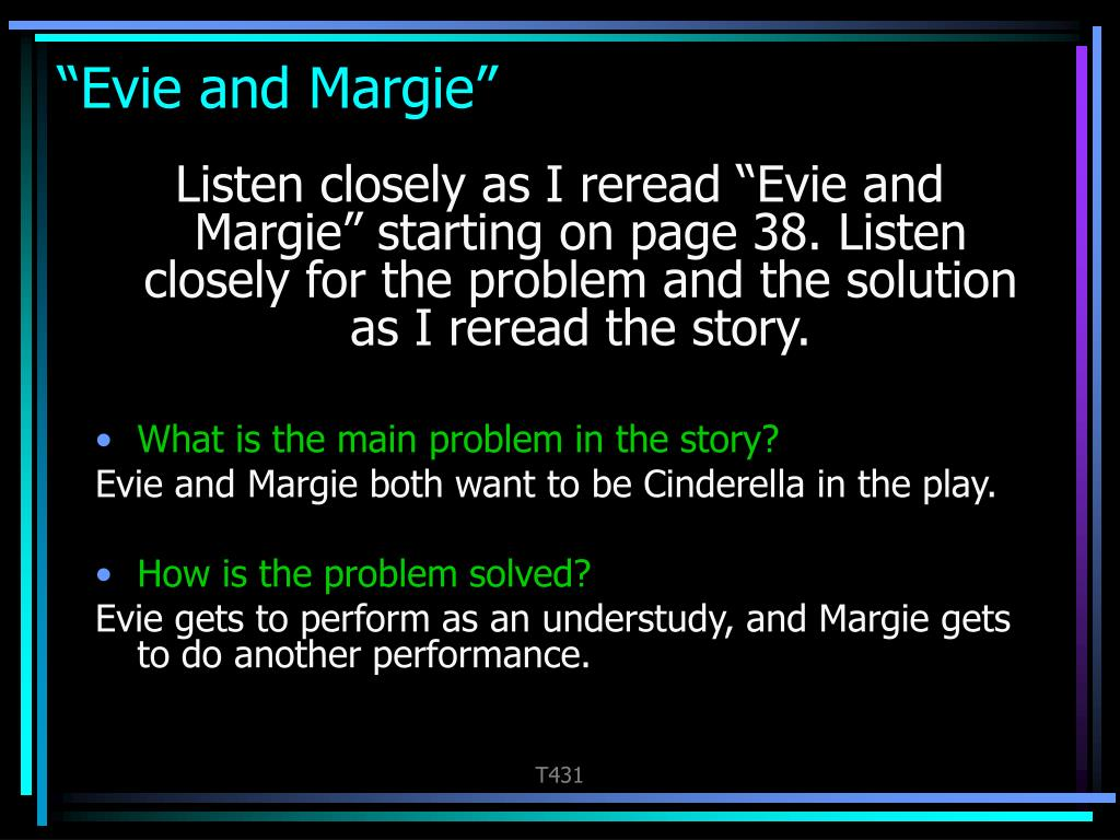 """Evie and Margie"""