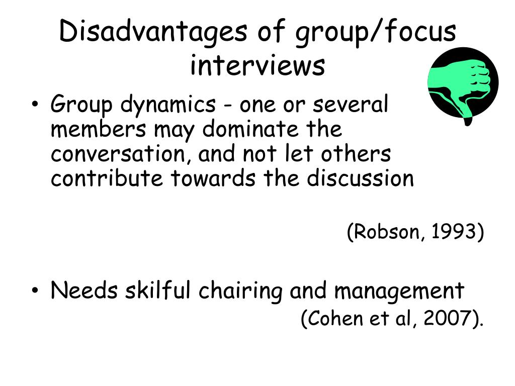 disadvantages of group presentation In one of the activities, we were put in groups of five, were given a topic to discuss and list the reasons/outcomes, and then to present it to the entire group since this was not a graded activity, the group chose the free rider to make the presentation.