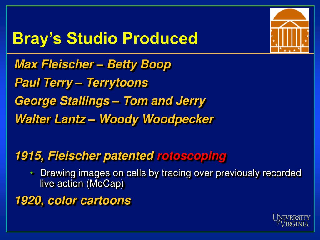 Bray's Studio Produced