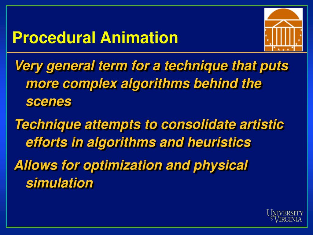 Procedural Animation