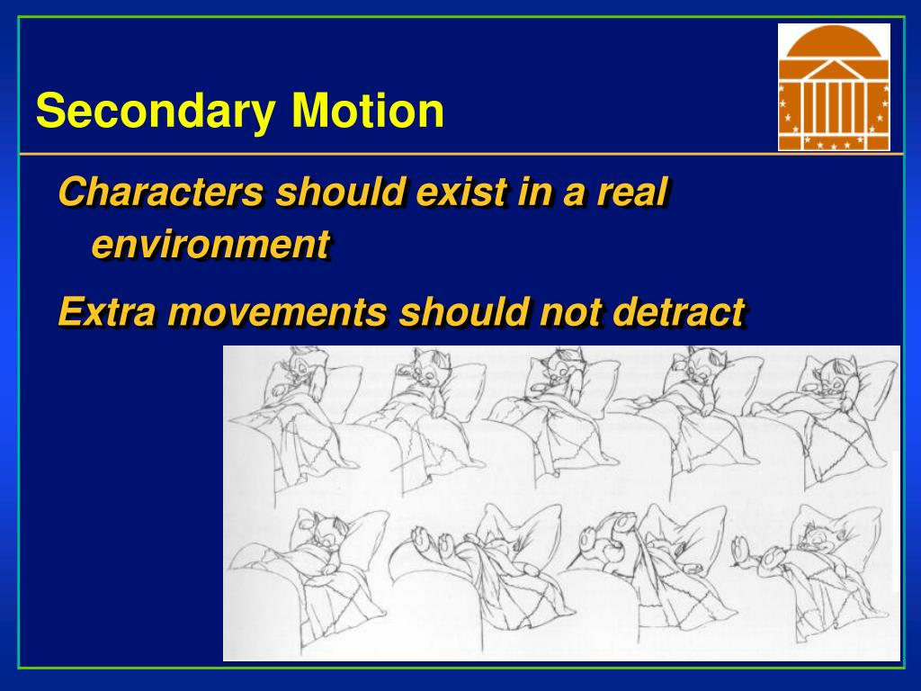 Secondary Motion